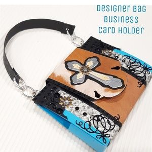Designer Bag Card Holder